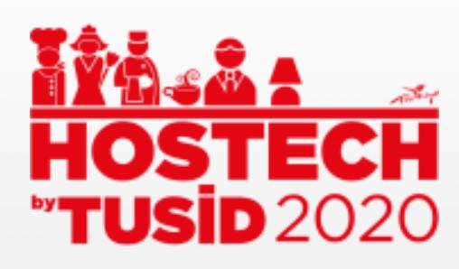Hostech By TUSID-24. Uluslararası Otel, Restoran, Kafe, Pastane Ekipmanları ve Teknolojileri Fuarı